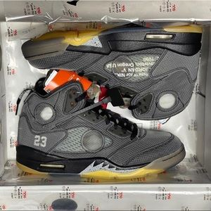 Nike Air Jordan 5 off-white size 10